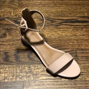 Big girl heeled sandals